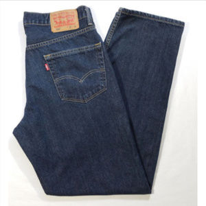 LEVI'S Men Sz 33 x 32 Jeans 550 Relaxed Fit 1630E2